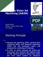 Abrasive Water Jet