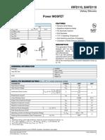 Datasheet nmos IRFd110