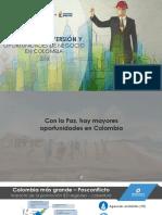 Ambiente de Inversión y Oportunidades en Colombia - 2018