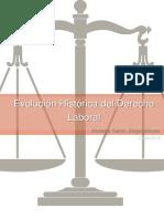 Evolución Histórica del Derecho Laboral