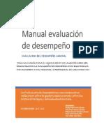 Actividad 10 - Manual Para La Evaluacion de Desempeño - Grupo 4 - Fase 2 Hacer..(1)