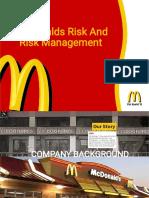 mcdo risk management