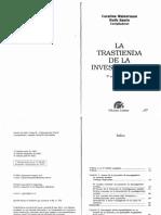 Weinerman y Sautu - La Trastienda de La Investigacion -Completo