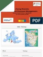Facing Diversity - ERASMUS + KA 1 - 2019