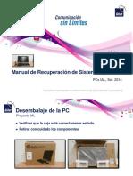 Manual de Recuperacion de SO de PCs IAL - Gilat