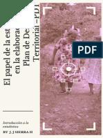 El papel de la estadistica en el desarrollo en la elaboracion del plan de desarrollo territorial