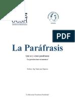 GUÍA-PACE-Paráfrasis