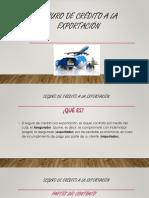EXPOSICION Seguro de Crédito Y Transporte a La Exportación - Copia