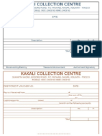 Debit Credit Voucher KKC