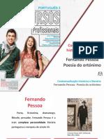 Contextualização Histórica e Literária - Fernando Pessoa