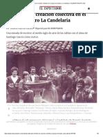 Creación colectiva en el grupo de teatro La Candelaria