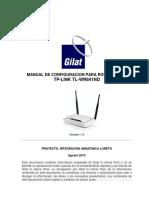 Configuracion Router SOHO TP-Link IALS v5