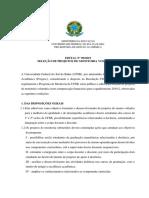 Edital monitoria UFSB