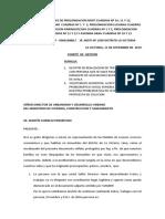 Memorial a Director Desarrollo Urbano Mvcs - Los Pobladores ..Corregido Setiembre 2019