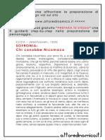 SOFRONIA, Chi Conobbe Nicomaco (Clizia, Machiavelli)