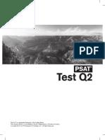 PSAT Practice Test Q2