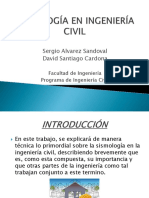Sismología en Ingeniería Civil