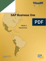 SAP Business One - Importaciones