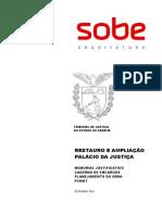 Caderno de Encargos RESTAURO Palacio Da Justiça Out 2014