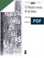 El Fabuloso Mundo de Las Letras - Jordi Fabra