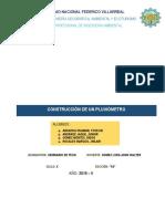 Informe Del Pluviometro