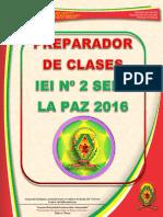 Preparador de Clase 2016