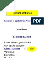 2 Spatial Statistics - Univariate (2)