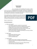 Program Assistant Job Description