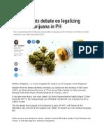 Marijuana Debate