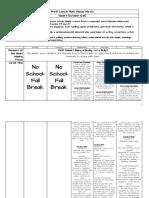 lesson plan week 11