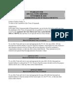 11-30 STM Warrant