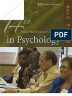 Black Graduate Conference in Psychology 2008