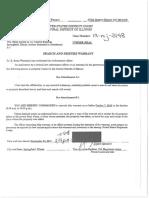 Unredacted copy of Martin Sandoval search warrant