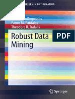 2013 Book RobustDataMining