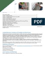 Manual GSSI StructureScan Mini Quick Start Guide