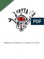 TRYTA_Reglamento Minisumo Jr 2019