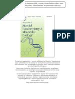 Testoterone degradation