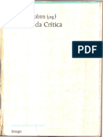 José Luís Jobim (Org.) - Palavras Da Crítica (Completo)