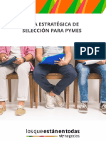 Guía Estratégica de Selección para Pymes