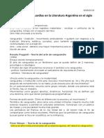 Apuntes sobre vanguardia argentina
