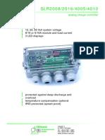SLR2-4000 Data Sheet E