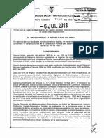 Decreto 1156 Del 06 de Julio de 2018 Registros Sanitarios Fitos