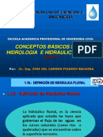 Cap. I Parte II Conceptos Basicos Hidrología e Hidraulica