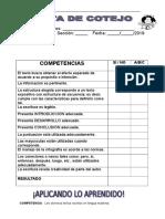 Nuevo Instrumento Evaluacion Tema Texto Expositivo 1ro Secundaria