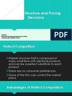 Market Structures and Pricing Decisions