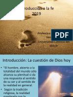 Introducción a La Fe