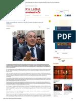 Uribe Enjuiciado Por Soborno y Fraude Procesal, Aunque No Por Sus Matanzas