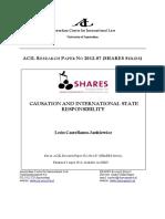 Castellanos Causation and International State Responsibility1