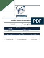 PGC 27 Procedimiento Gestión de Cambio V1