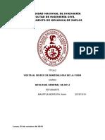 Informe de Mineralogia